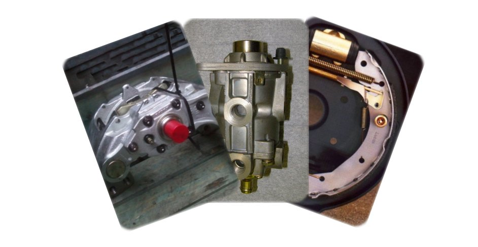 A Selection of Braking Components